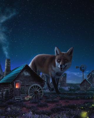 Fox Demons - Obrázkek zdarma pro Nokia Asha 308
