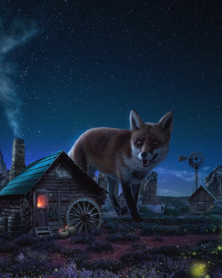Fox Demons - Obrázkek zdarma pro Nokia C5-06