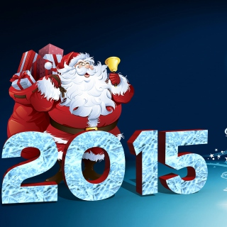 New Year 2015 - Obrázkek zdarma pro iPad mini 2