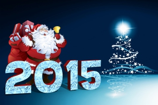 New Year 2015 Background for Android, iPhone and iPad