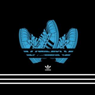Adidas Shoes - Obrázkek zdarma pro iPad