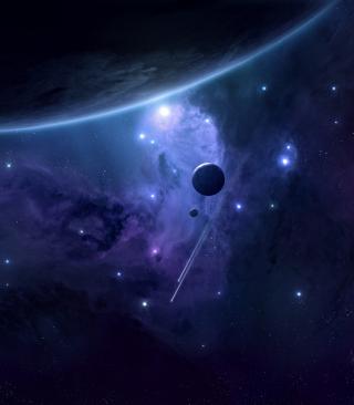 Milky Way and Stars - Obrázkek zdarma pro Nokia C2-03