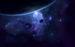 Milky Way and Stars - Obrázkek zdarma pro Samsung Galaxy S II 4G