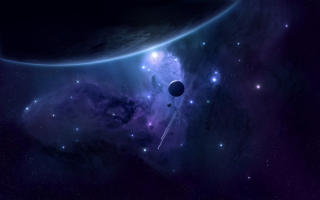 Milky Way and Stars - Obrázkek zdarma pro Samsung Galaxy Grand 2