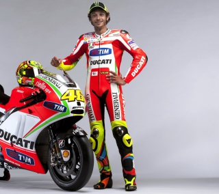 Valentino Rossi - Obrázkek zdarma pro 1024x1024