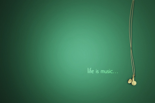 Life Is Music Wallpaper for Android, iPhone and iPad