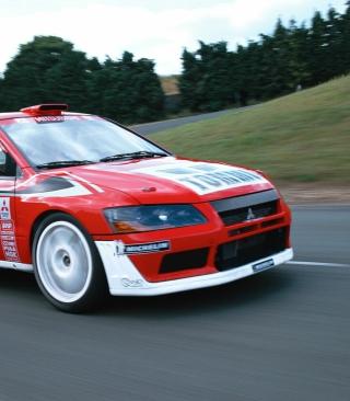 Mitsubishi Lancer Evolution WRC - Obrázkek zdarma pro 360x400