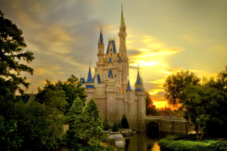 Disneyland Castle Wallpaper for Android, iPhone and iPad