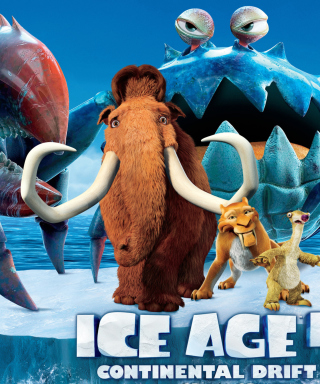 Ice Age 4 Continental Drift - Obrázkek zdarma pro Nokia Asha 202