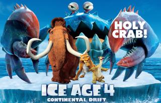 Ice Age 4 Continental Drift - Obrázkek zdarma pro Desktop Netbook 1366x768 HD