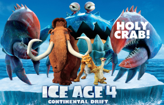 Ice Age 4 Continental Drift - Obrázkek zdarma pro HTC EVO 4G