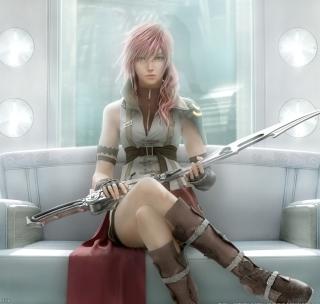 Lightning - Final Fantasy - Obrázkek zdarma pro 128x128
