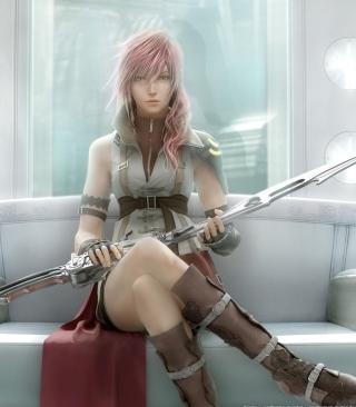 Lightning - Final Fantasy - Obrázkek zdarma pro 480x854