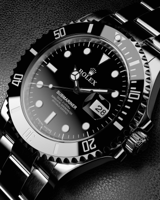Titanium Watch Rolex - Obrázkek zdarma pro 240x320