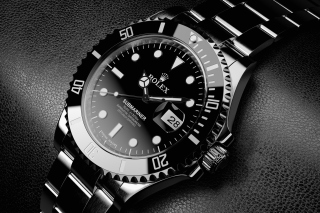 Titanium Watch Rolex - Obrázkek zdarma pro 800x480