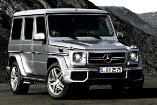 Mercedes Benz G class Gelandewagen AMG Picture for Android, iPhone and iPad