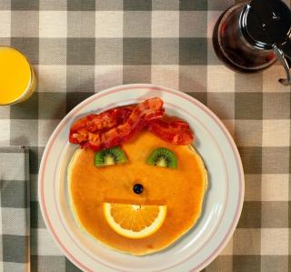 Kids Breakfast - Obrázkek zdarma pro iPad 3