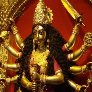 Goddess Durga - Obrázkek zdarma pro iPad mini