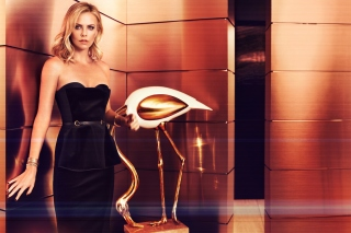 Charlize Theron on Oscar Awards - Obrázkek zdarma pro 1200x1024