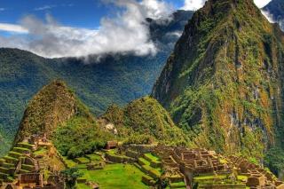 Machu Picchu In Peru - Obrázkek zdarma pro Samsung Galaxy Tab 7.7 LTE
