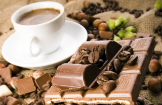 Free Coffee And Chocolate Picture for Android, iPhone and iPad