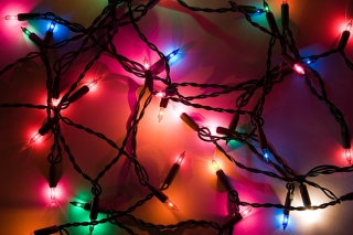Free Holiday Lights Picture for Android, iPhone and iPad