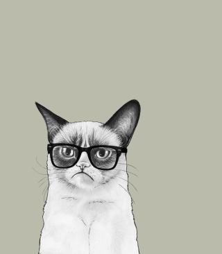 Grumpy Cat - Obrázkek zdarma pro 640x1136