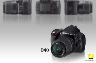 Nikon D40 Background for Android, iPhone and iPad