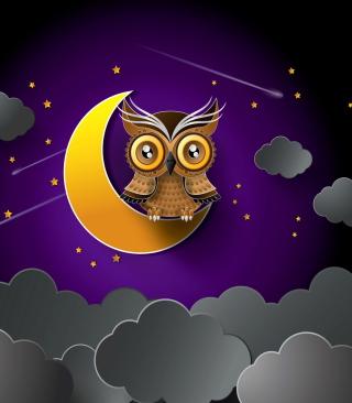 Owl - Obrázkek zdarma pro Nokia C1-01
