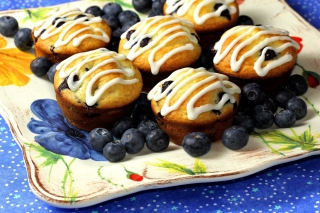 Free Blueberry Muffins Picture for Android, iPhone and iPad