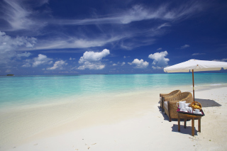 Maldives Luxury all-inclusive Resort Wallpaper for Android, iPhone and iPad