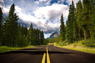 Road Photo Background for Android, iPhone and iPad