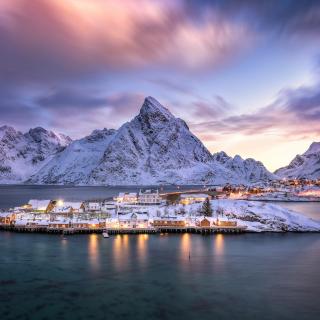 Lofoten Islands - Obrázkek zdarma pro 1024x1024