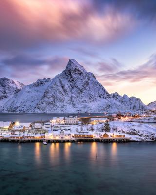 Lofoten Islands - Obrázkek zdarma pro Nokia Asha 503