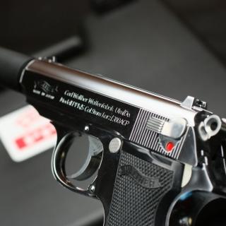 Carl Walther Waffenfabrik 380 ACP Automatic Colt Pistol - Obrázkek zdarma pro 128x128