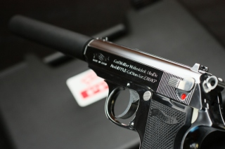 Carl Walther Waffenfabrik 380 ACP Automatic Colt Pistol Background for Nokia Asha 200