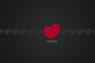 One My Love Wallpaper for Android, iPhone and iPad