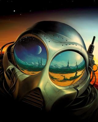 Sci Fi Apocalypse Fiction - Obrázkek zdarma pro Nokia 206 Asha
