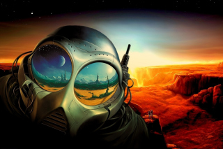 Sci Fi Apocalypse Fiction - Obrázkek zdarma pro LG Optimus M