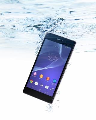 Sony Xperia Z2 Underwater - Obrázkek zdarma pro Nokia X3-02