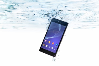 Sony Xperia Z2 Underwater Background for Android, iPhone and iPad