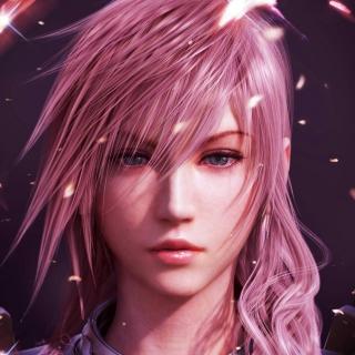 Lightning Final Fantasy - Obrázkek zdarma pro iPad Air
