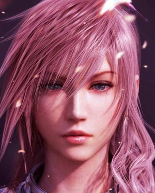 Lightning Final Fantasy - Obrázkek zdarma pro 480x800