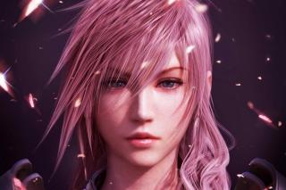 Lightning Final Fantasy - Obrázkek zdarma pro 480x360