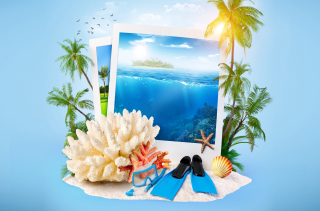Summer Time Photo Wallpaper for Android, iPhone and iPad