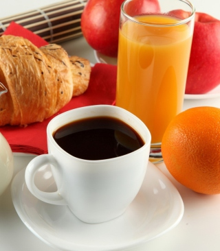 Breakfast With Bagel - Obrázkek zdarma pro Nokia C5-03