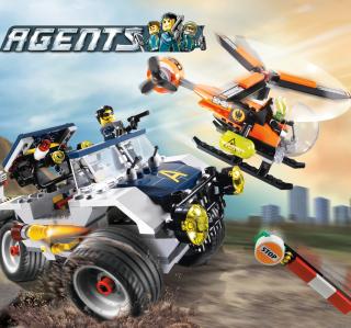 Lego Agents - Obrázkek zdarma pro 1024x1024