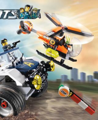 Lego Agents - Obrázkek zdarma pro Nokia Asha 305