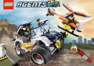 Lego Agents - Obrázkek zdarma pro 480x400