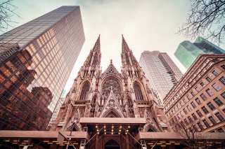 St Patricks Cathedral In New York - Obrázkek zdarma pro Android 1440x1280